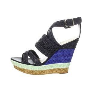 Loeffler Randall Lake WV Wedge Sandals